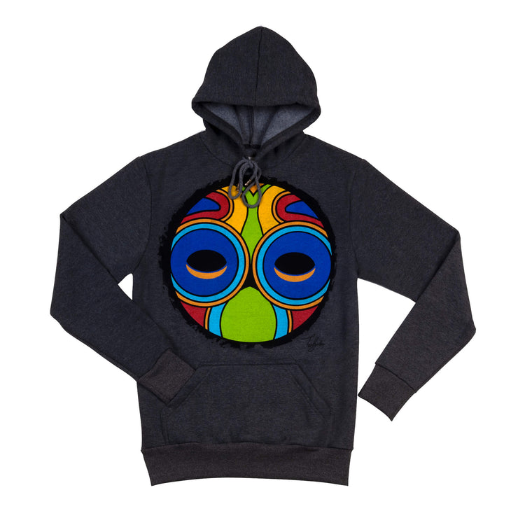OUAGADOUGOU INVINCIBLE WARRIOR MASK UNISEX HOODIE
