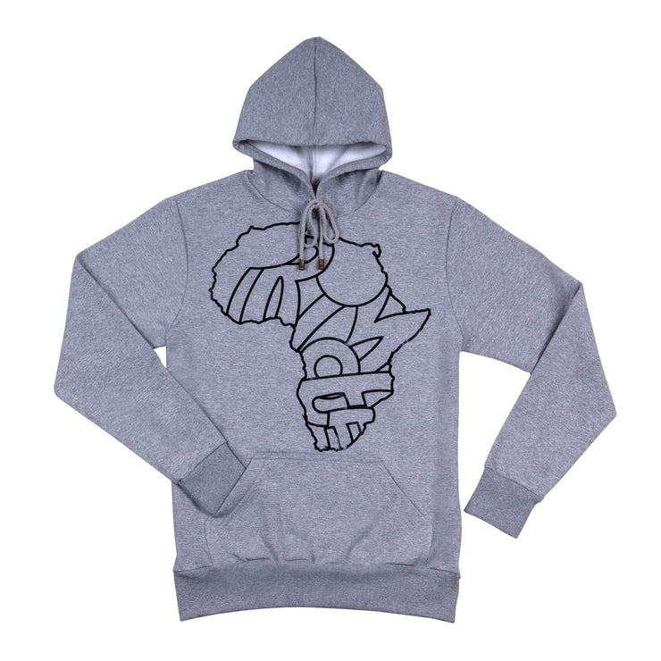 #IPROMOTE AFRICA CONTINENT MAP SAHARA EDITION UNISEX HOODIE