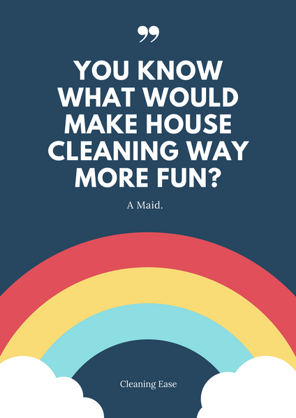 House cleaning quote poster 16