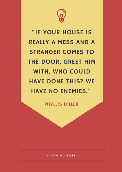 House cleaning quote poster 19