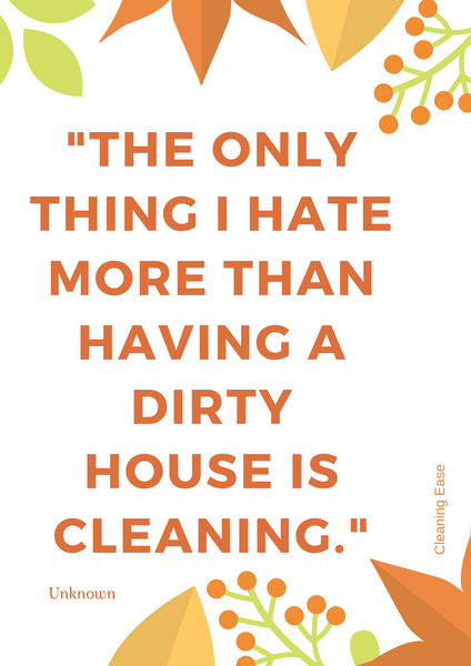 House cleaning quote poster 23