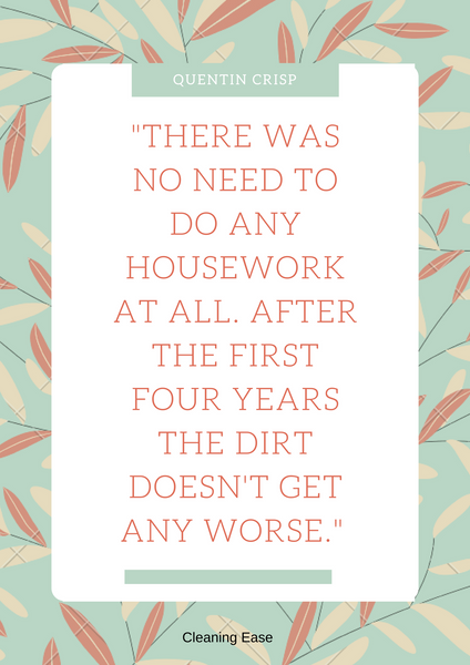 House cleaning quote poster 26