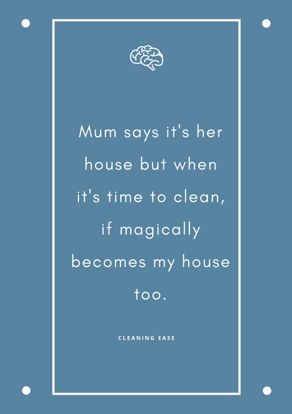 House cleaning quote poster 31
