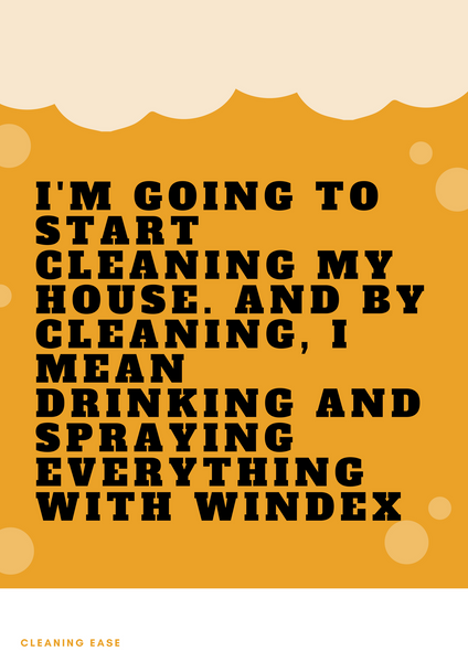House cleaning quote poster 32