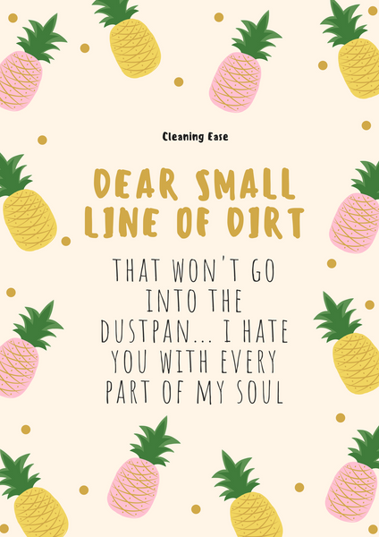 House cleaning quote poster 6