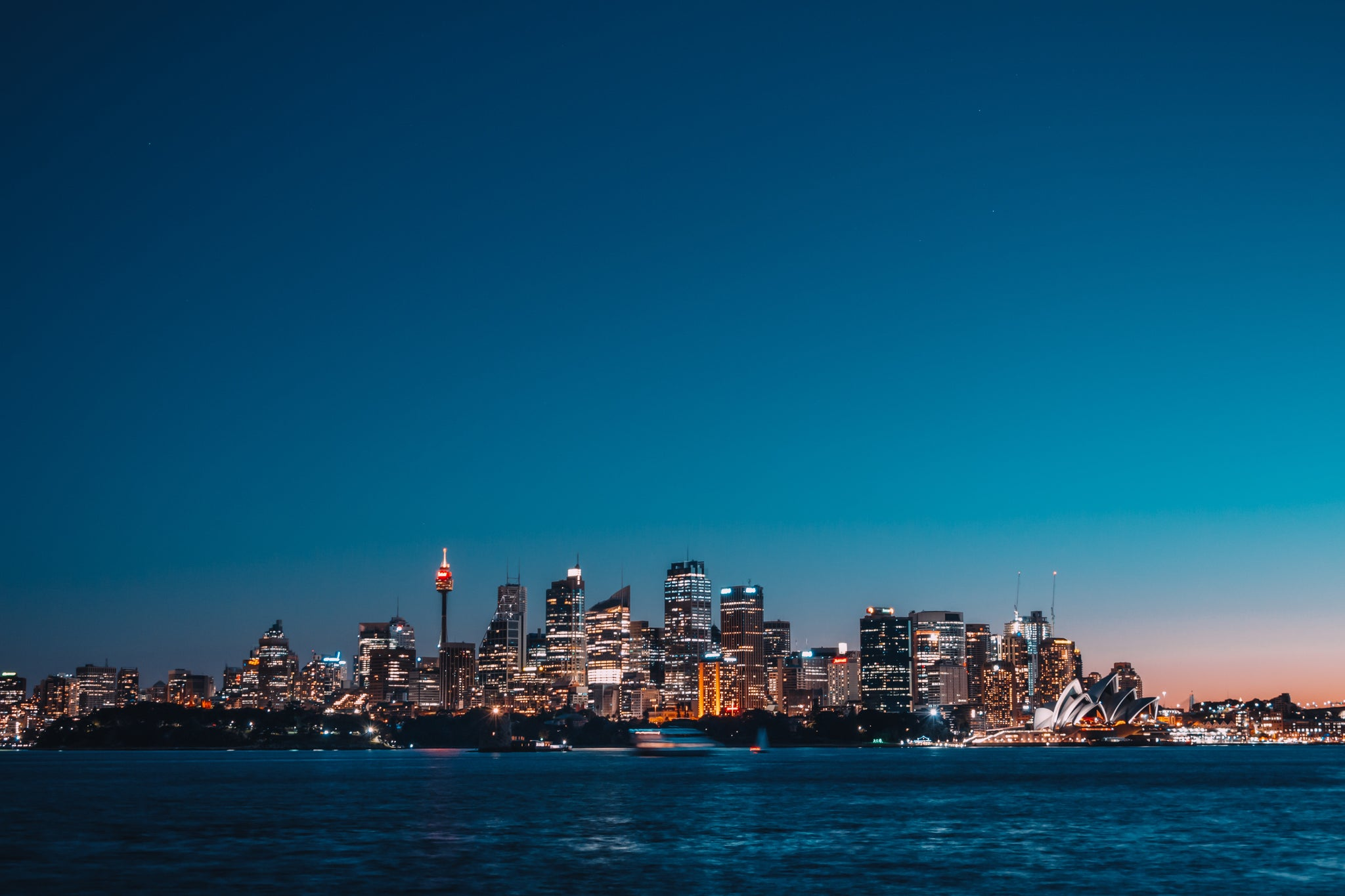 View of Sydney City from Cremorne