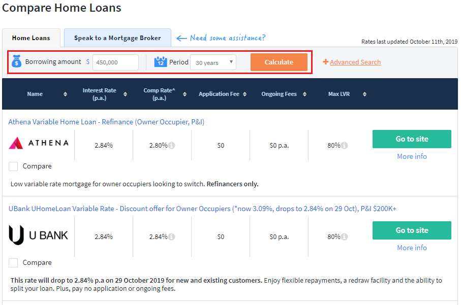 How to Compare Home Loans on Finder