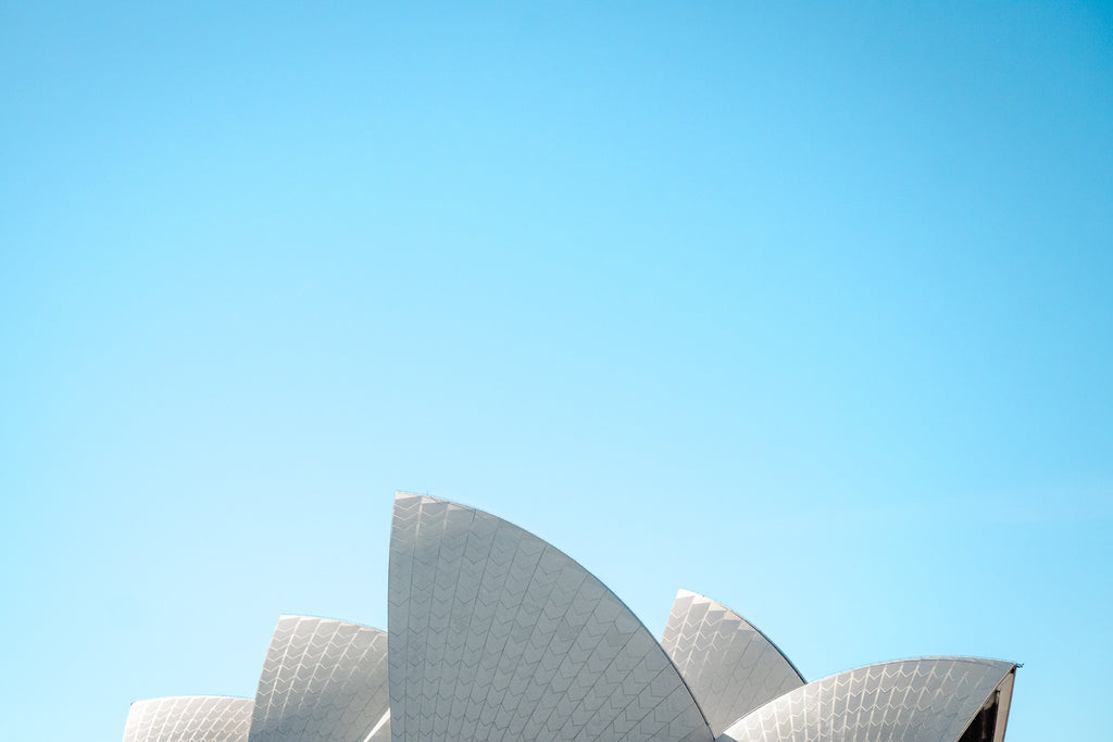 Sydney Opera House and Blue Sky