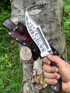 Custom Fenrir Bush knife!