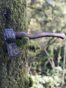 Hand Forged Camp Axe, Entirely Forged To Shape, By Kempf Forge