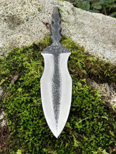 Hand Forged Athame, Ritual Dagger With Baphomet Sheath, By Kempf Forge