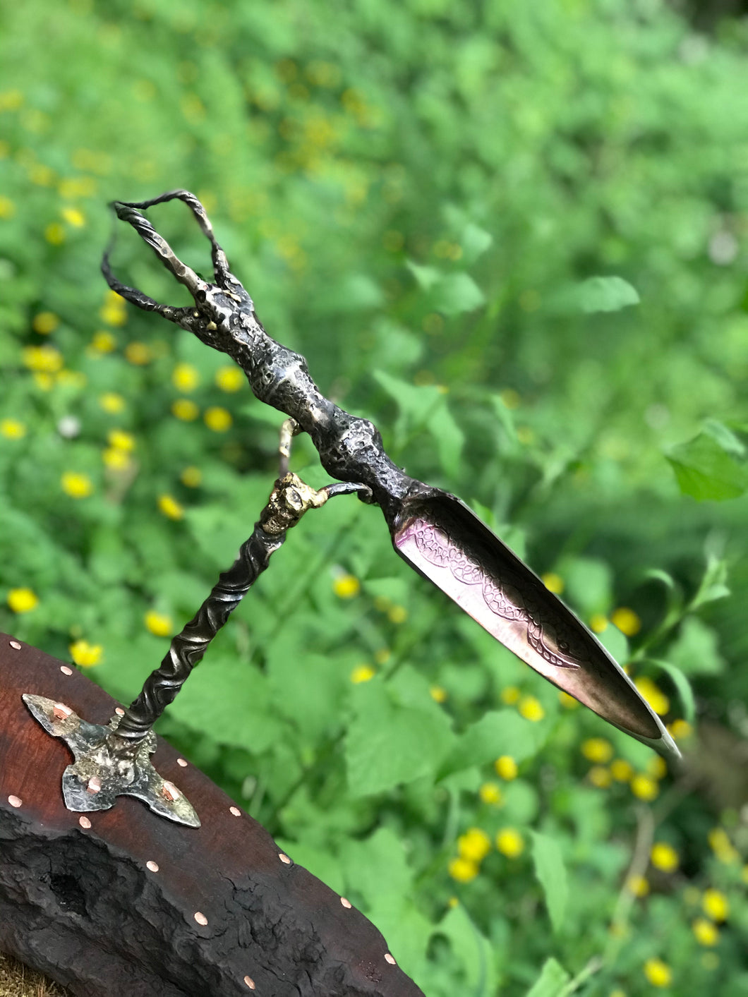 Diamantine Dagger of Emptiness (Phurba) -Kempf Forge X Troll Cunning Forge Collaboration-