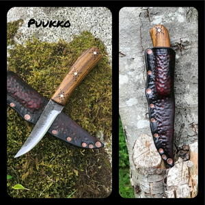 Custom Puukko! Fantastic Utility and woodworking knife