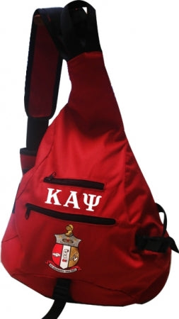 One-Strap Bookbag -Kappa Alpha Psi®️ -Greek_Paraphernalia - M3 Greek