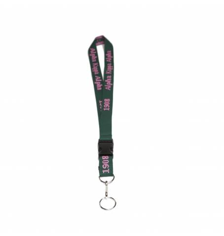 Greek PVC Lanyard - Alpha Kappa Alpha - M3 Greek