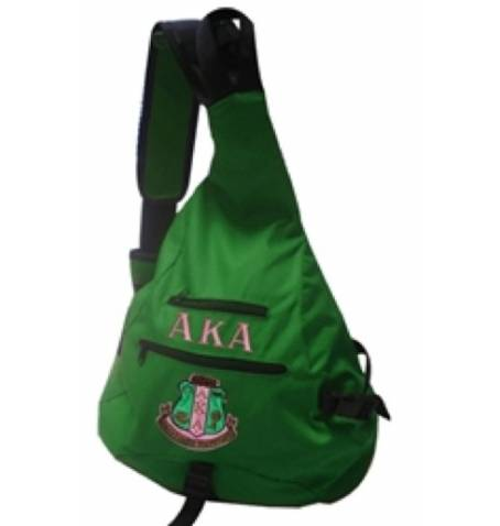 One Strap Bookbag - Alpha Kappa Alpha™ - M3 Greek