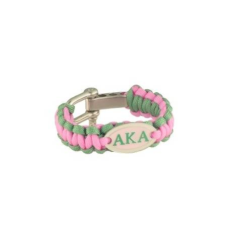 Survival Bracelet - Alpha Kappa Alpha™ -Greek_Paraphernalia - M3 Greek