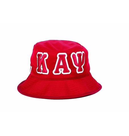 Bucket Hat - Kappa Alpha Psi -Greek_Paraphernalia - M3 Greek