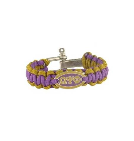 Survival Bracelet - Omega Psi Phi - M3 Greek
