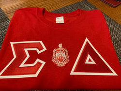 Twill Letter - Where You From Tee - Delta Sigma Theta®️ -Greek_Paraphernalia - M3 Greek