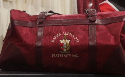 Kappa Duffle Bag -Kappa Alpha Psi -Greek_Paraphernalia - M3 Greek