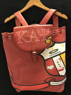 Kappa Large Travel Backpack - Kappa Alpha Psi -Greek_Paraphernalia - M3 Greek