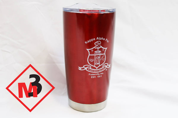 Vacuum Sealed Tumbler - Kappa Alpha Psi -Greek_Paraphernalia - M3 Greek