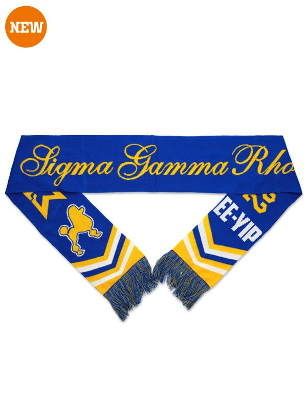 Winter Scarfs - Sigma Gamma Rho -Greek_Paraphernalia - M3 Greek