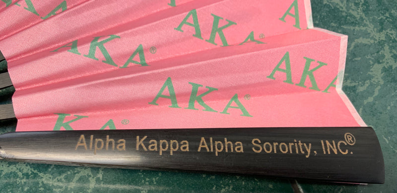 Wooden frame Sorority Fan - AlphaAlpha Kappa Alpha®️ -Greek_Paraphernalia - M3 Greek