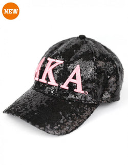 Sequin Cap - Alpha Kappa Alpha®️ -Greek_Paraphernalia - M3 Greek
