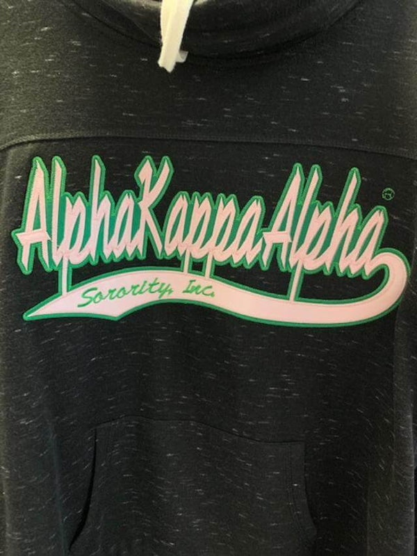 Twill Cowl Neck Custom Sweatshirt- Alpha Kappa Alpha™ -Greek_Paraphernalia - M3 Greek