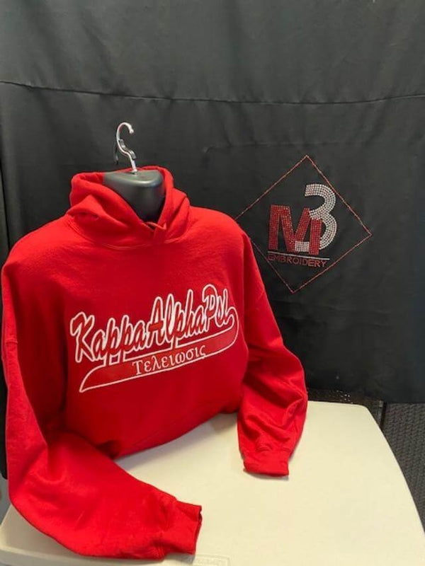 Custom Tail Twill Hoodie-Kappa Alpha Psi®️
