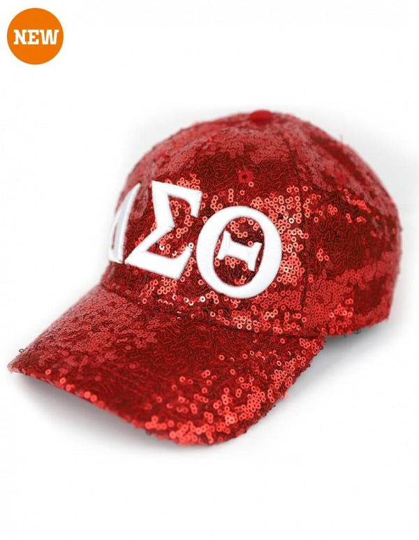 Sequin Cap - Delta Sigma Theta®️ -Greek_Paraphernalia - M3 Greek