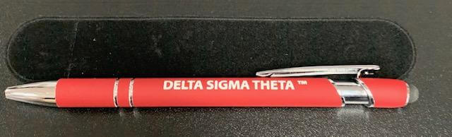 Delta Writing Pen - Delta Sigma Theta®️ -Greek_Paraphernalia - M3 Greek
