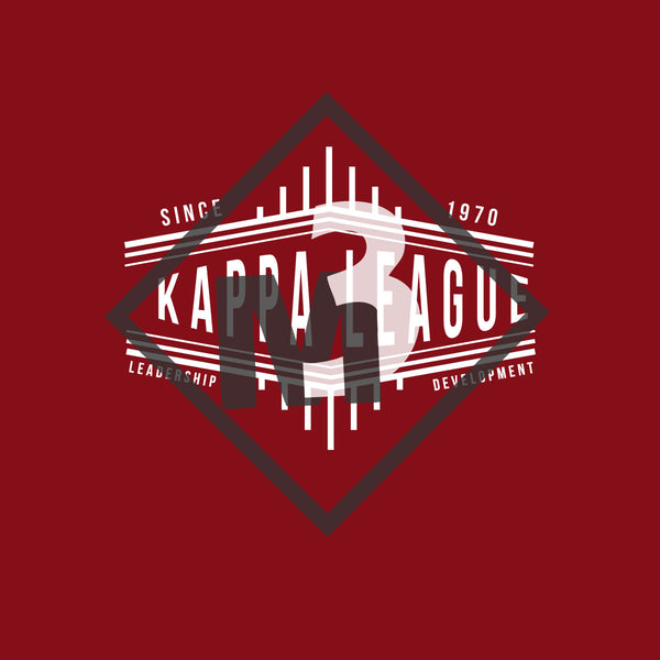 Kappa League Diagonal Tee -Greek_Paraphernalia - M3 Greek