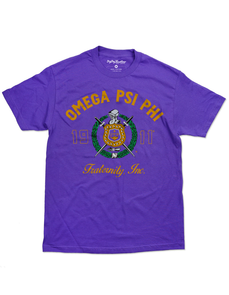 Omega Graphic Tee- Omega Psi Phi -Greek_Paraphernalia - M3 Greek