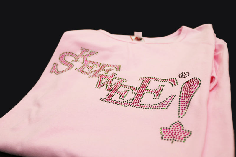 Skee-Wee Bling Tee - ALPHA KAPPA ALPHA™ -Greek_Paraphernalia - M3 Greek