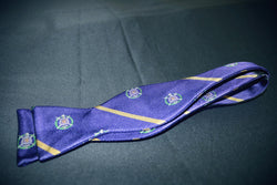 Self Tie Shield Bow Tie - Omega Psi Phi -Greek_Paraphernalia - M3 Greek