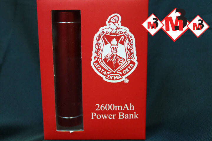 Premium LED Power Bank - Delta Sigma Theta™ -Greek_Paraphernalia - M3 Greek
