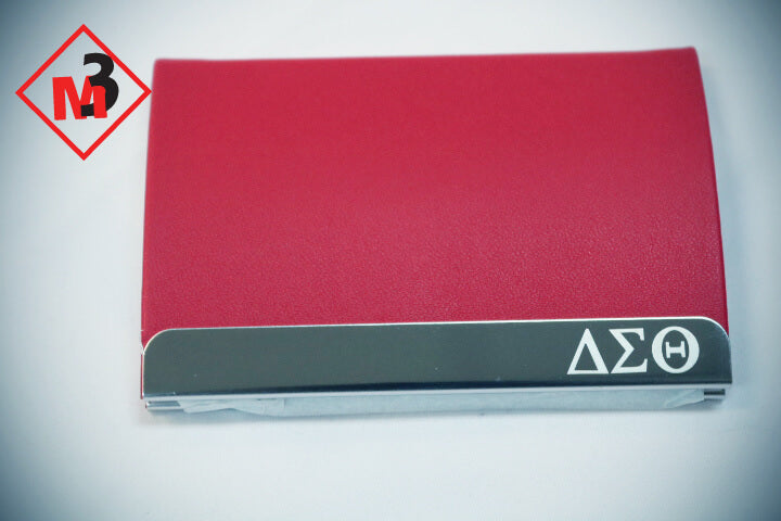 Business Card Holder - Delta Sigma Theta®️ -Greek_Paraphernalia - M3 Greek