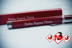 Sorority Logo Pen Light - Delta Sigma Theta®️ -Greek_Paraphernalia - M3 Greek
