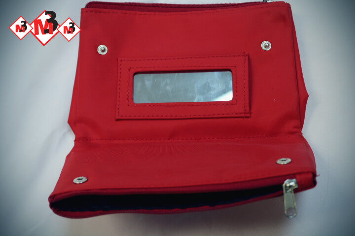 Crest Logo Cosmetic Bag - Delta Sigma Theta®️ -Greek_Paraphernalia - M3 Greek
