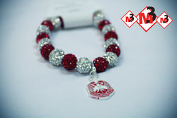 Single Charm, Bracelet - Delta Sigma Theta®️ -Greek_Paraphernalia - M3 Greek