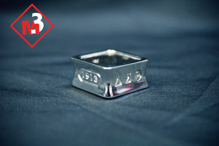 Square Ring - Delta Sigma Theta®️ -Greek_Paraphernalia - M3 Greek