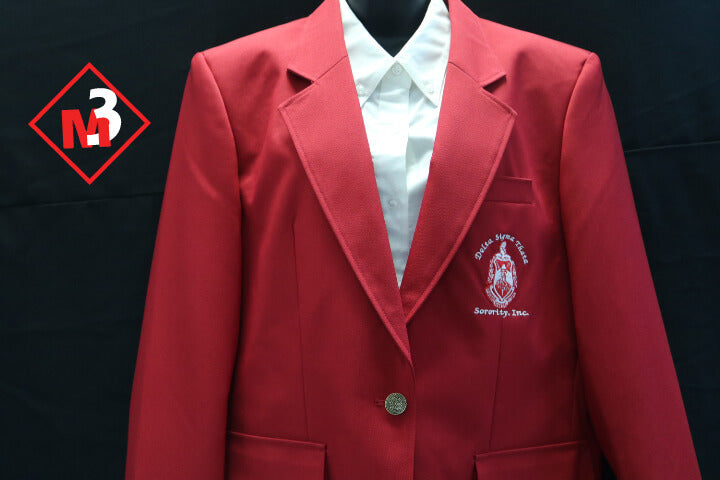 Sorority Blazer - Delta Sigma Theta®️ -Greek_Paraphernalia - M3 Greek
