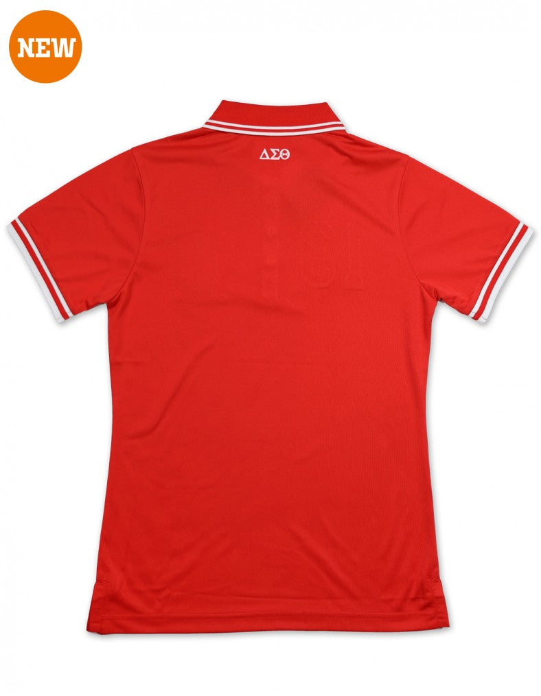 Delta Polo Shirt - Delta Sigma Theta®️ -Greek_Paraphernalia - M3 Greek