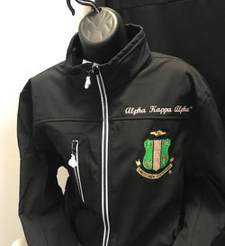 M3GREEK®️ Custom All Weather Jacket - Alpha Kappa Alpha®️ -Greek_Paraphernalia - M3 Greek
