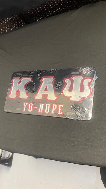 Kappa Full License Plate