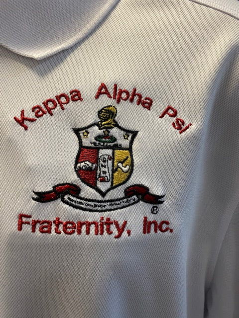 Crest Polo - Kappa Alpha Psi -Greek_Paraphernalia - M3 Greek