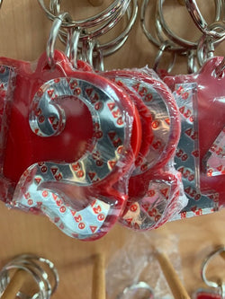 Line Number Key Chains - Delta Sigma Theta®️ -Greek_Paraphernalia - M3 Greek